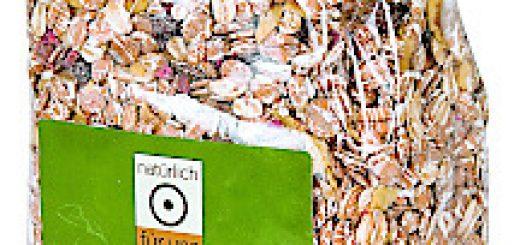 BILD zu OTS - natŸrlich fŸr uns , Bio FrŸchte MŸsli , 500 g ,
