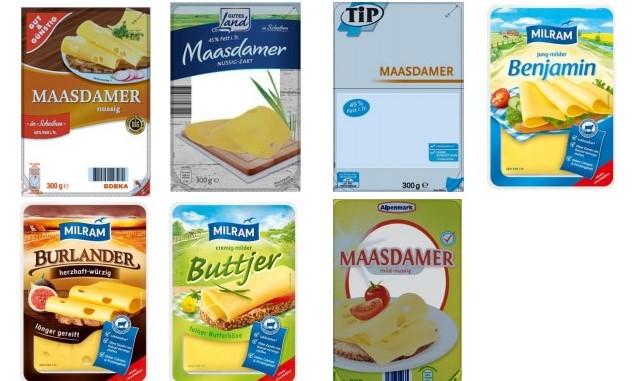 UPDATE zum Käse Rückruf: Kunststofffolie – DMK ruft viele ...